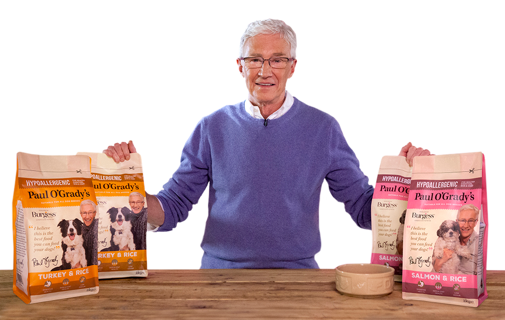 Paul O'Grady Dog Food - Hypoallergenic Range